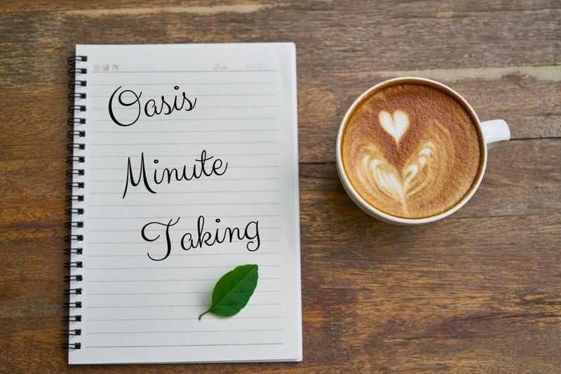 Minute taking Service